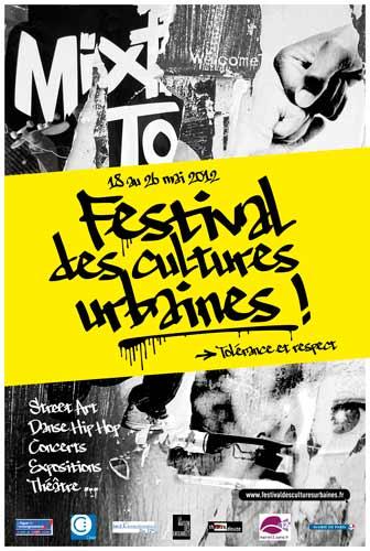 Festival des cultures urbaines // mai 2012