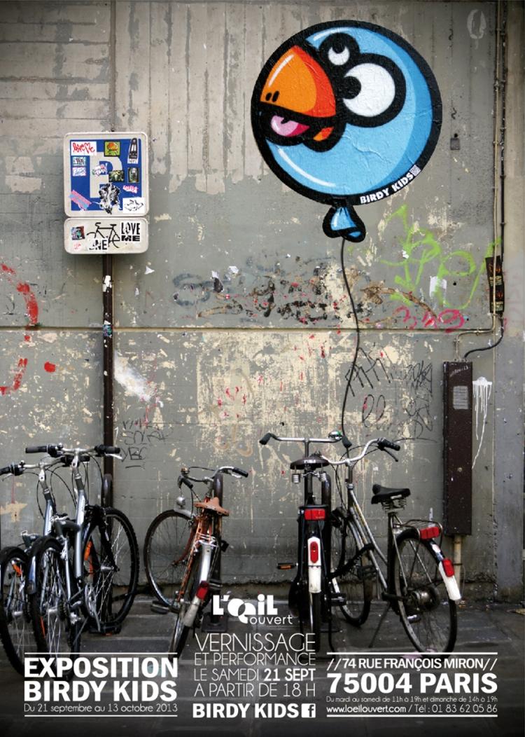 Affiche Birdy Kids
