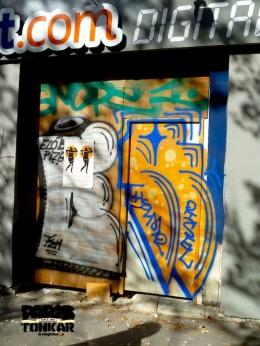 Graffiti à Paris
