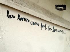 Les murs et les sols parlent...