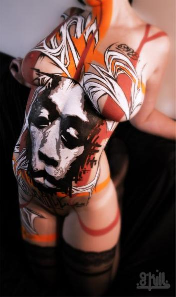 G-Kill body painting