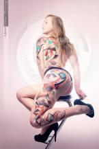 Uniko body painting
