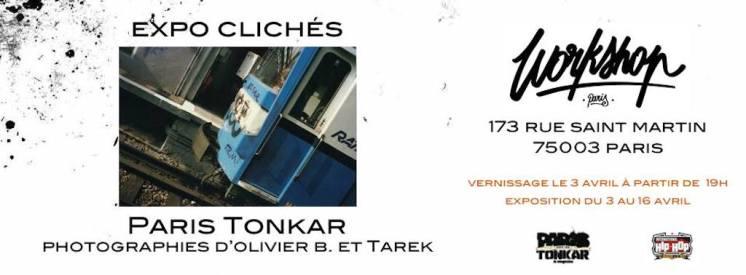 Expo clichés Paris Tonkar