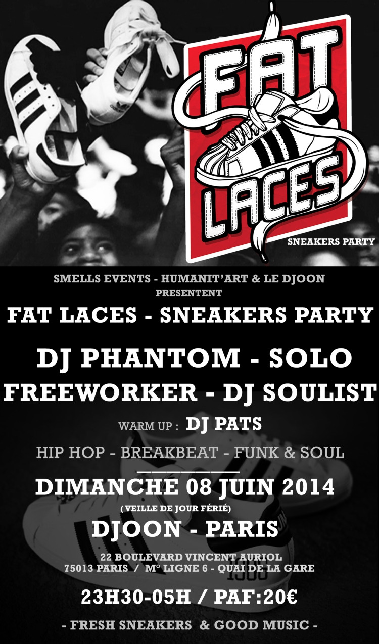FAT LACES PARTY DJOON