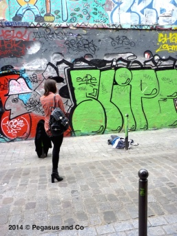 Graffiti à Paris