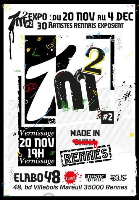 Exposition 1m2 àRennes