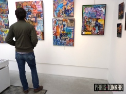 Exposition Utopie(s) Urbaines : vernissage + installation