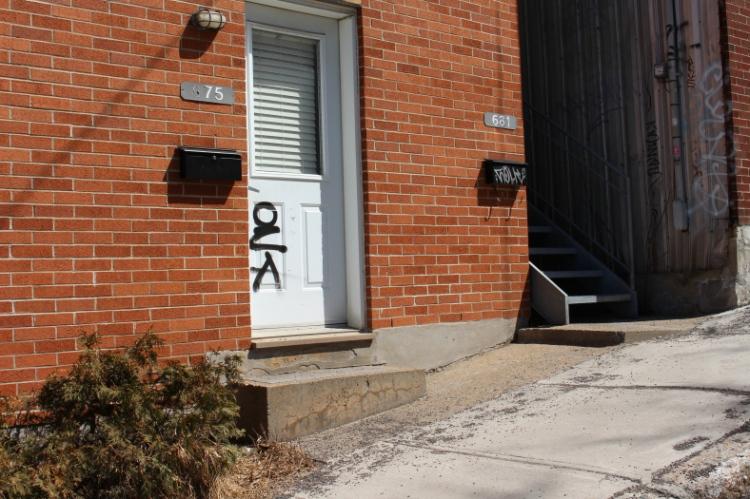 Graffiti | Quartier St-Jean=Baptiste | Québec