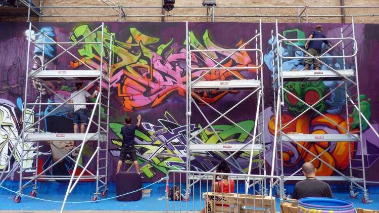 Artistes de Graffiti