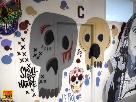 Masques et Vanités au collège Charles deGaulle