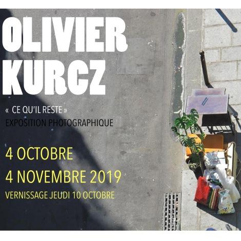 La galerie café kykart expose OlivierKurcz
